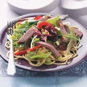 Thai Beef Pasta Salad Recipe