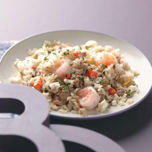 Spicy Chorizo & Shrimp Rice Recipe