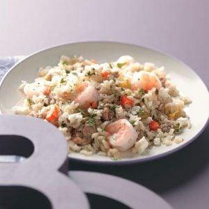 Spicy Chorizo & Shrimp Rice Recipe