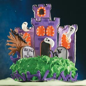 haunted castle cake recipe - Scary Halloween Cake Recipes