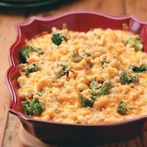 Broccoli Mac & Cheese Bake Recipe
