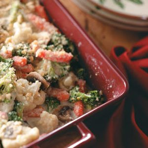 Vegetable Swiss Casserole Recipe