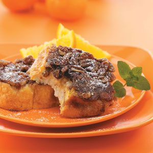 Upside-Down Orange French Toast Recipe