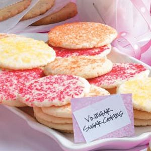 Vinegar Sugar Cookies