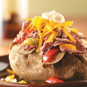 Philly Steak Potatoes Recipe