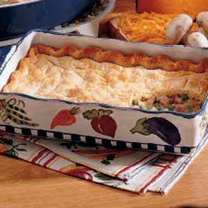 Deep-Dish Ham Pie Recipe