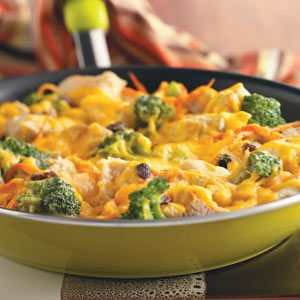 Broccoli Chicken Skillet Recipe