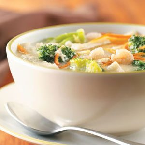 Shrimp Egg Drop Soup Recipe