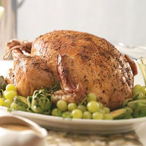 Tender Herb-Roasted Turkey Recipe