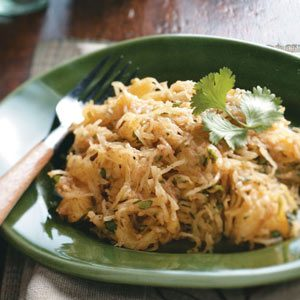 Spaghetti Squash with Moroccan Spices Recipe