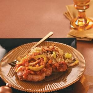 Tangy Tender Pork Chops