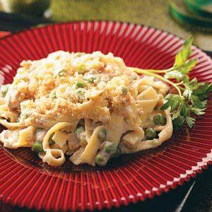 Creamy Tuna-Noodle Casserole Recipe photo by Taste of Home