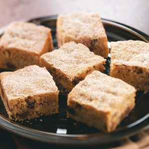 Blondie Nut Bars Recipe