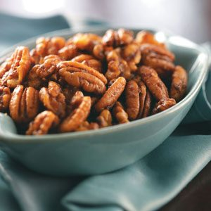 Sweet & Spicy Nuts Recipe