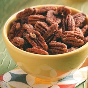 Five-Spice Pecans Recipe photo by Taste of Home