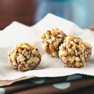 Maple Nut Truffles Recipe