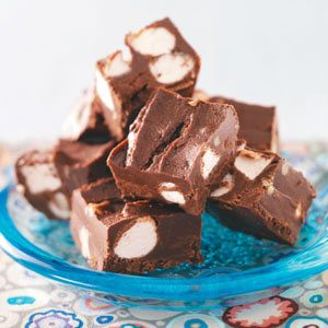 Microwave Marshmallow Fudge