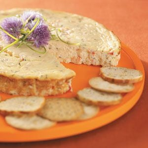 Smoked Salmon and Chives Cheesecake Recipe
