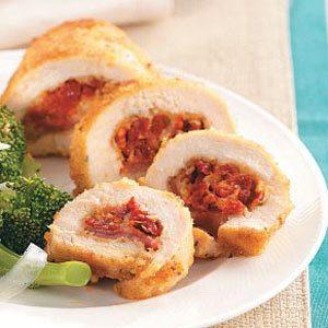 Sun-Dried Tomato Chicken Roll-Ups Recipe
