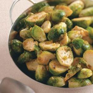 Lemon-Pepper Brussels Sprouts Recipe