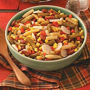 Hearty Bean Salad Recipe