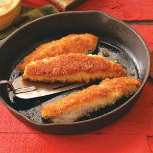 Crisp Cajun Panfish Recipe