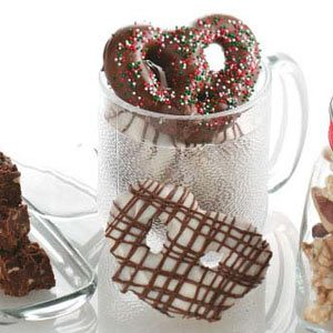 Chocolate-Covered Pretzels Recipe