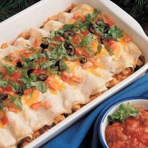 Mexican Turkey Roll-Ups Recipe