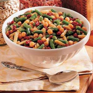Hot Five-Bean Salad Recipe