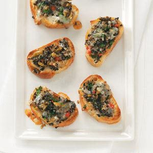 Mixed Olive Crostini Recipe