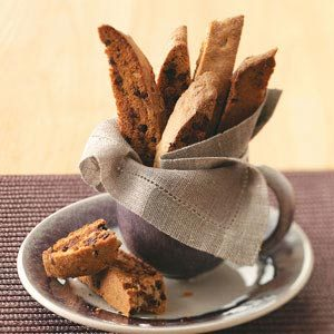 Chai-Chocolate Chip Biscotti Recipe