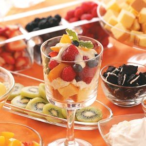Summertime Fruit Trifles