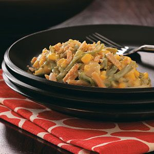 Makeover Fancy Bean Casserole