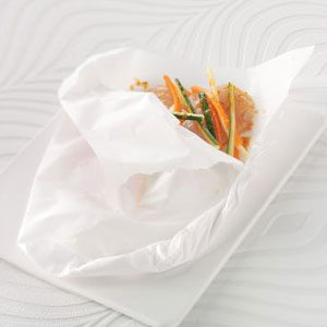 Orange Tilapia in Parchment Recipe