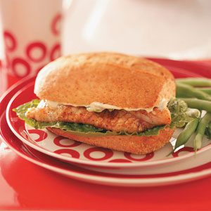 Cajun Catfish Sandwiches Recipe