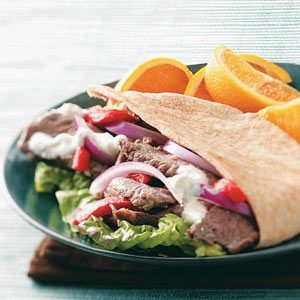 Red, White and Blue Pita Pockets