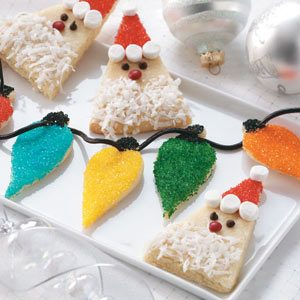 Christmas Lights Sugar Cookies Recipe