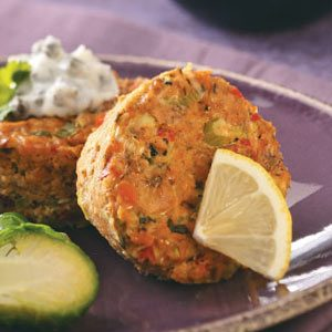Baked Salmon Cakes Recipe