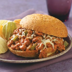 Italian Turkey Sloppy Joes Recipe