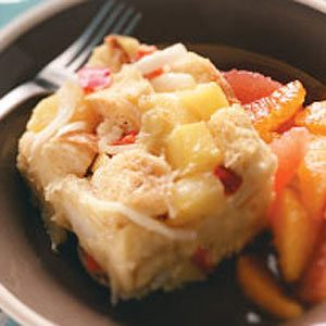 Brie-and-Veggie Brunch Strata Recipe