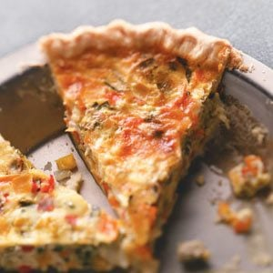Rainbow Quiche Recipe