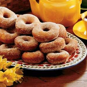 Feather-Light Doughnuts Recipe