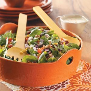 Corn and Spinach Salad Recipe