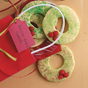 Berliner Kranz Cookies Recipe