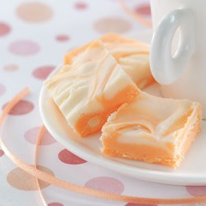 Makeover Marbled Orange Fudge Recipe