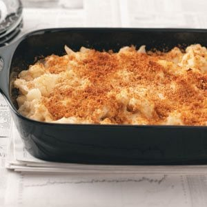 Cauliflower Parmesan Casserole Recipe