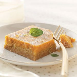 Makeover Pumpkin Gooey Butter Cake
