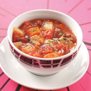 Pork Vegetable Soup Recipe