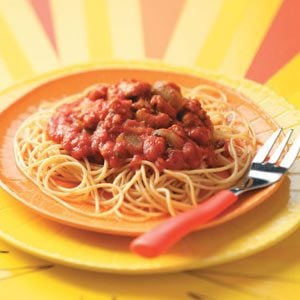 Turkey Spaghetti Sauce Recipe