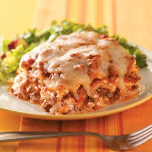 Creamy Onion Lasagna Recipe